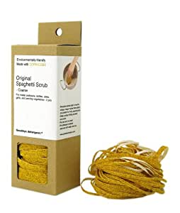 Goodbye Detergent GDB100 Original Spaghetti Scrub, 2 Pack, Coarse