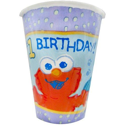 Sesame Street Beginnings 1st Birthday 9oz Paper Cups (8ct)