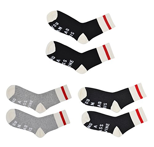 IF You Can Read This PLEASE Bring Me Some Wine Socks, YITU Novelty Cotton Socks, Best Housewarming Gift Idea, Birthday Present, or Mother's Day Gift for a Wine Enthusiast (3sets Wine Socks) (Ideas Presents Unisex)