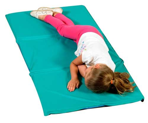 - H/S 3 Fold Infection Control Mat (10 Pack) Color: Teal & Blue