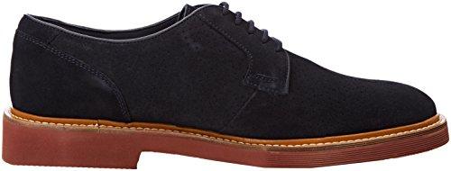 Para Hombre Geox Damocle navy Zapatos A Azul De U Cordones Derby P0qq8xTwf