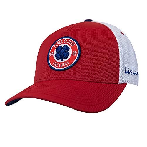 Black Clover HAT メンズ US サイズ: One Size カラー: レッド