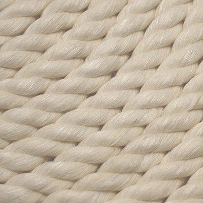 (Miami Cordage NR58508 Nylon 3-Strand Twist 5/8 in x 50 ft White)