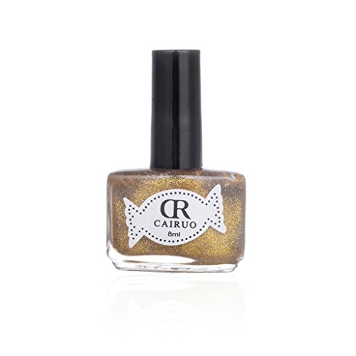 ❤JPJ❤️ Girls Nail Art Polish,8ml Sexy Charming Metal