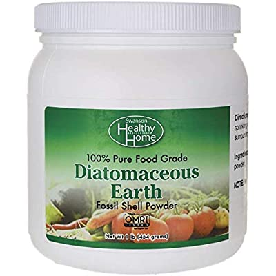 Swanson 100% Pure Food Grade Diatomaceous Earth 1 lb (454 g) Pwdr