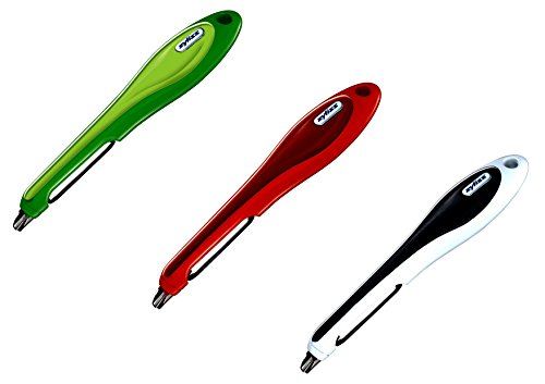 Zyliss Smoothglide Potato Peeler, Colors Vary, 3-pack (Potato Zyliss)