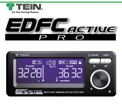 TEIN 電動減衰力コントローラー EDFC ACTIVE PRO + モーターキット(EDK05-10120) PRO セット B0771Q61JD