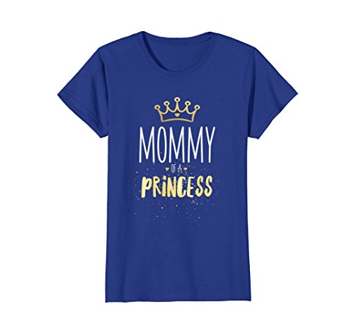 Mommy and Me Clothes Matching Mom Princess Daughter T-Shirt