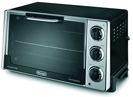 Charming DeLonghi RO2058 6 Slice Convection Toaster Oven With Rotisserie