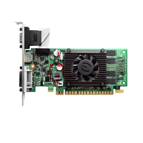 EVGA 1GB GeForce 8400 GS DirectX 10 64-Bit DDR3 PCI Express 2.0 x16 HDCP Ready Video Card Model 01G-P3-1302-LR by EVGA (Image #1)