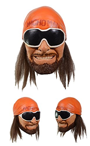 Randy Savage Halloween Costumes - Adult size WWE - Macho Man Randy Savage Mask - Trick or Treat Studios