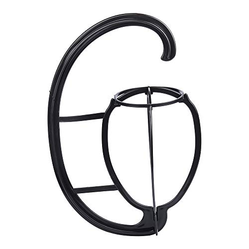Wig Hanger Portable Hanging Detachable Wig Dryer Wig Stand Tool Holder 2 Pcs for All Wigs and Hats (Black)