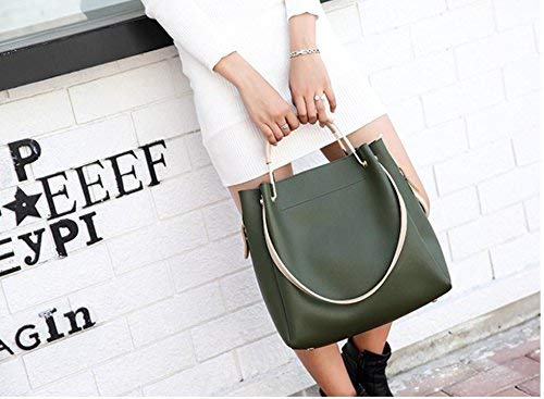 Yisaesa maat Handtas Slant Groen Bag Simple grijs Fashion kleur groen rxSqrwP