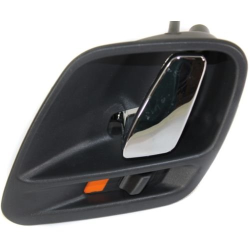 (MAPM Premium Quality GRAND CHEROKEE 99-04 FRONT DOOR HANDLE LH, Inside, Chrome Lever+Black (Agate) Housing (=REAR))