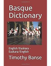 Basque Dictionary: English/Euskara - Euskara/English