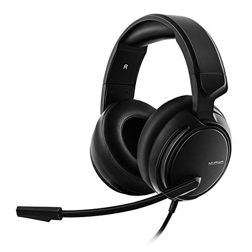 NUBWO N12 Gaming Headset for Xbox One PS4 PC Nintendo Switch, Headphones with Microphone for Playstation 4 Xbox 1 S PS4 PRO Mic Games – Black