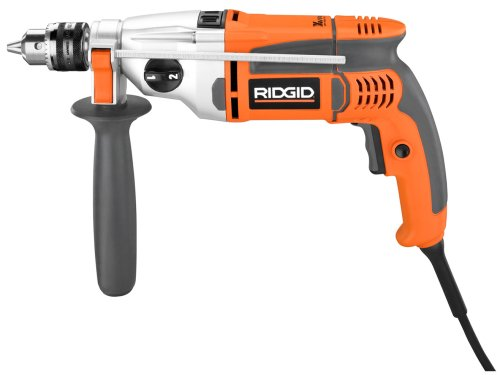 RIDGID ZRR5011 1/2-inch Heavy-Duty VSR Hammer/Pulse Drill (Certified Refurbished) by Ridgid