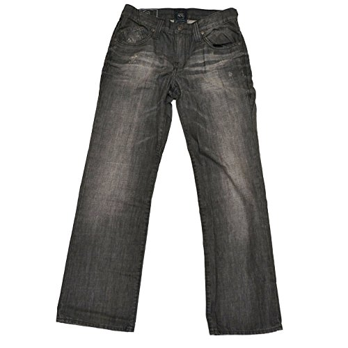 Regular Fit Straight Leg Jeans (Twister, 29 x 30) (Rock Republic Men Jeans)