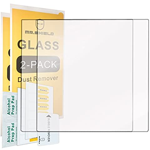 [2-PACK]-Mr Shield For BlackBerry Passport Silver Edition [Tempered Glass] Screen Protector with Lifetime Replacement (Blackberry Passport Glass)
