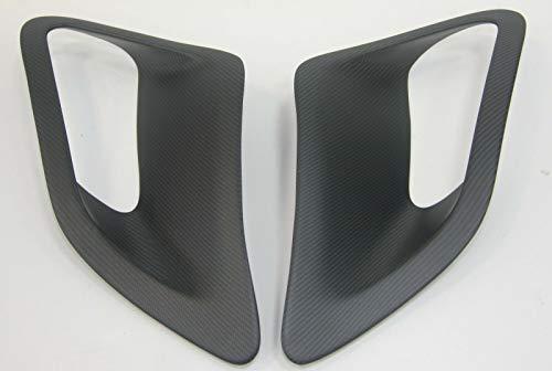 - FidgetKute Matte Carbon Fiber GT2 Side Fender Air Intake Scoops Vents fit for 997