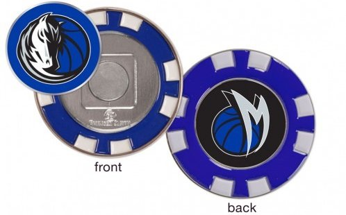 Dallas Mavericks Poker Chip Marker (with removable ball marker) by WinCraft
