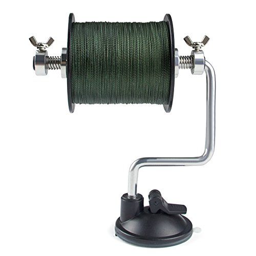 Booms Fishing Line Spooler Adjustable for Varying Spool Sizes