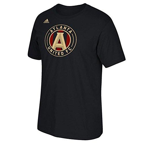 (adidas Atlanta United FC Men's Logo T-Shirt Black (Small))