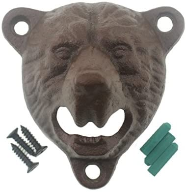 Mount Grizzly Bottle Opener Vintage product image