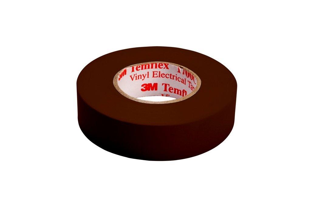 3 M tbra1510 TEMFLEX 1500 vinilo elé ctrico de cinta aislante, 15 mm x 10 m, 0,15 mm), color marró n 15mm x 10m 15mm) color marrón 3M 7000062273 323722