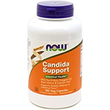 NOW Candida Support,180 Veg Capsules