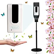 OOLLEE Automatic Hand Sanitizer Dispenser - Touchless Sensor Machine with Stand | Soap Dispenser for Shop, Off