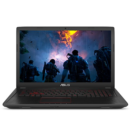"ASUS Gaming Laptop, 17.3"" Full HD Wideview Display, Intel Core i7-7700HQ processor, NVIDIA GTX 1050 Ti 4GB, 8GB DDR4 RAM, 1TB HDD, Backlit Keyboard, USB 3.1 Type C, Windows 10 Home, FX73VE-WH71"