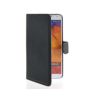 MOONCASE Cartera Funda Carcasa Cuero Tapa Case Cover Para Samsung Galaxy Note 3 ( N9000) Negro