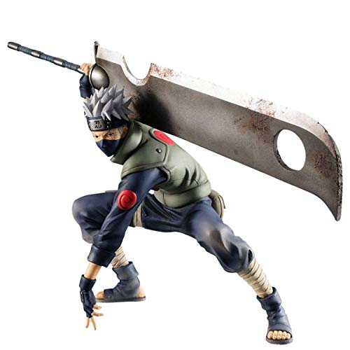 - Megahouse Naruto: Hatake Kakashi (Ninkaitaisen Version) Gem Series PVC Figure