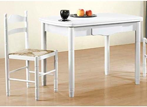 AMUEBLA 0333. Mesa DE Cocina DE 100 X 60 CM. OVLADA Extensible DE ...