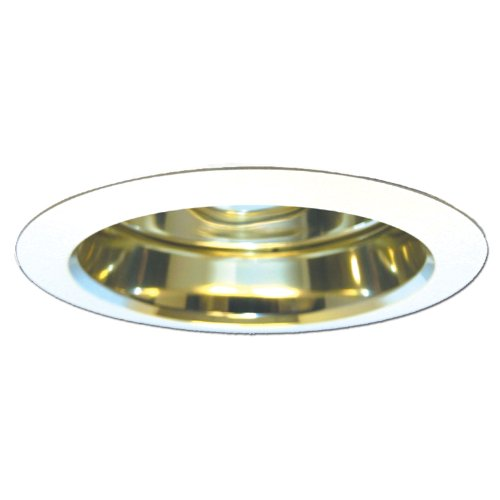 Cone Reflector White Trim - 8
