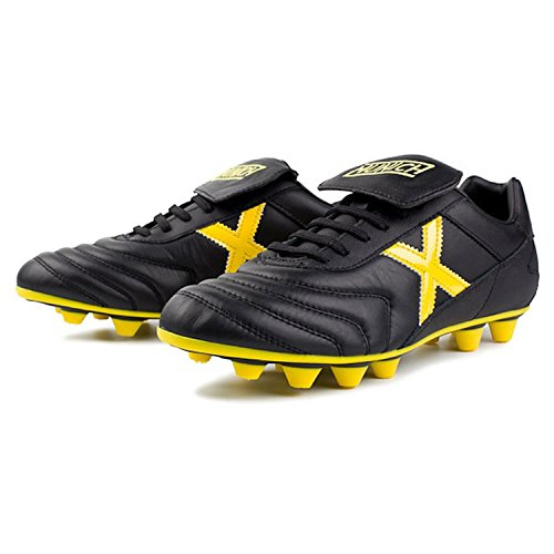 Munich Sports Football Shoes Mundial U Yellow Color-Yellow/Black Size-5.5 F7rGX