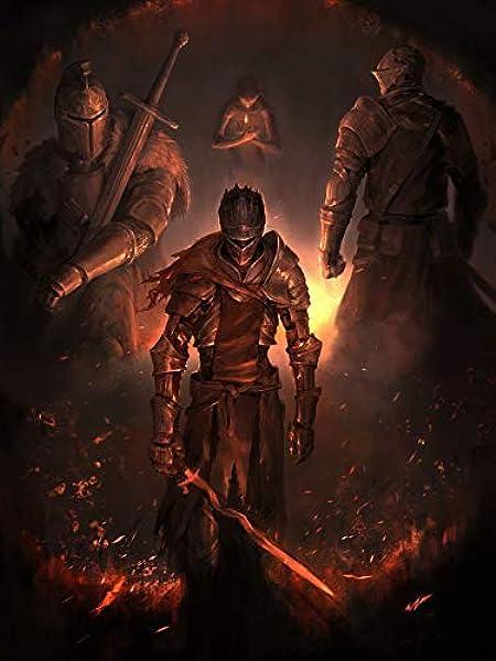 24inch x 32inch/60cm x 80cm Dark Souls 3 Silk Poster: Amazon.es: Hogar