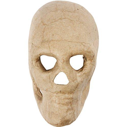 Creativ 10 cm 1-Piece Papier Mache Skull 592572