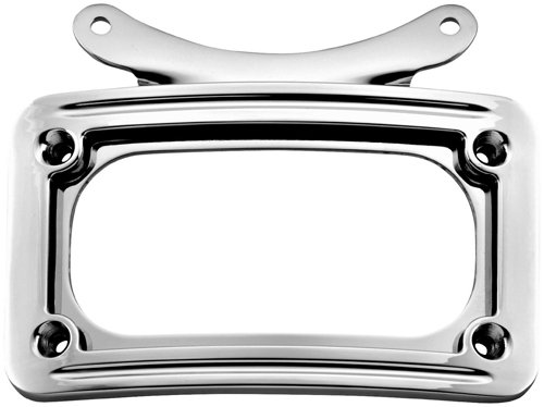 Kuryakyn 3162 Curved License Plate Frame (Frame Plate Curved Kuryakyn License)