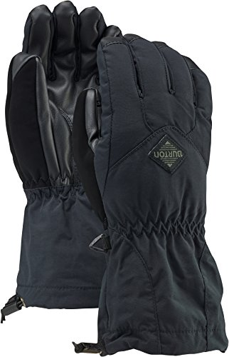 Burton Kids' Insulated, Warm and Waterproof Profile Gloves with Touchscreen, True Black W19, Large ()