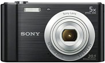 Sony W800/B 20.1 MP Digital Camera (Black)
