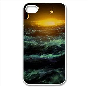 Planets Watercolor style Cover iPhone 4 and 4S Case