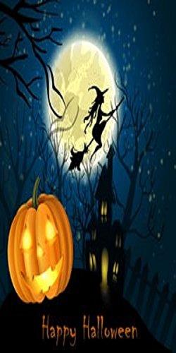 SANDT Company Plastic Halloween Indoor & Outdoor Door Cover, 30