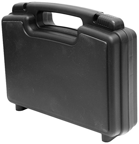 Cases By Source SL-1483E Lightweight Plastic Carry Tool Case, 13.5 x 7.75 x 3, Black