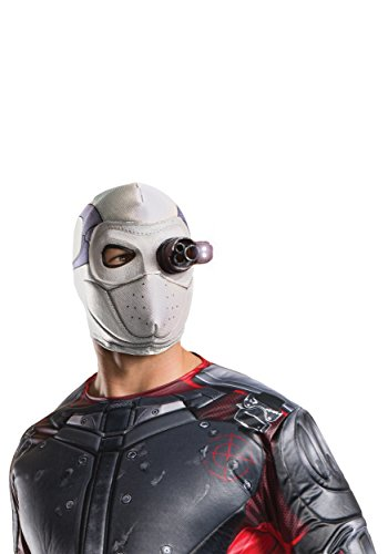 Rubie's Costume Co. Men's Suicide Squad Deadshot Mask, Light up, One Size