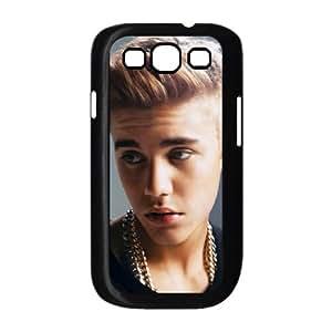 Justin B funda Samsung Galaxy S3 9300 caja funda del teléfono celular del teléfono celular negro cubierta de la caja funda EEECBCAAL04655