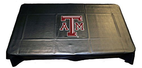 TEXAS A&M AGGIES NCAA Logo Billiards Pool Table Cover 7' 8' 9' 7ft 8ft (Texas A&m Pool Table)