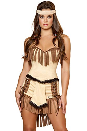Womens Sexy Cherokee Indian Costume (L 8)