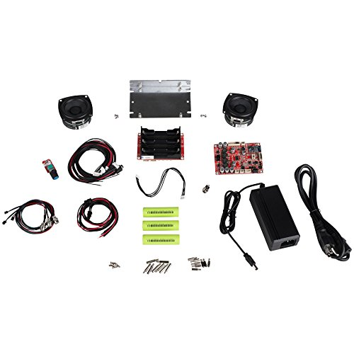 Parts Express Portable 30 Watt Battery Powered Bluetooth Speaker Package with 2-1/2'' Full-Range Drivers by Parts Express